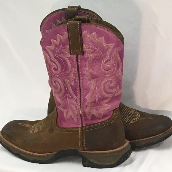 294fa62eb2f3b Durango Lady Rebel Boots Size 9